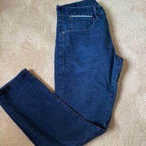 Bonobos Stretch Selvage Dark Wash Jeans